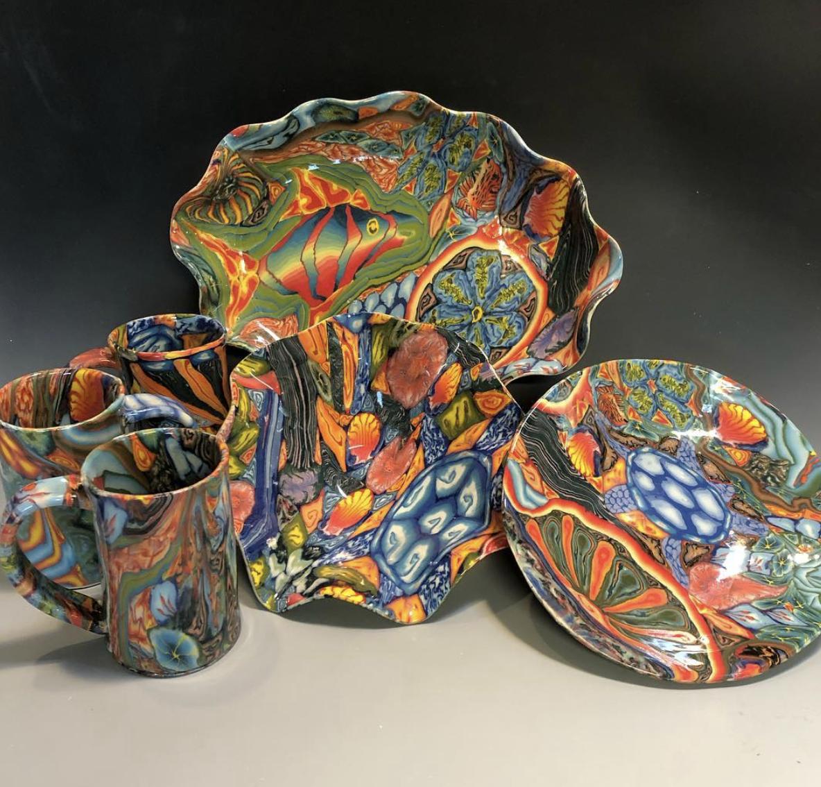 Dean McRaine – Colored Clay