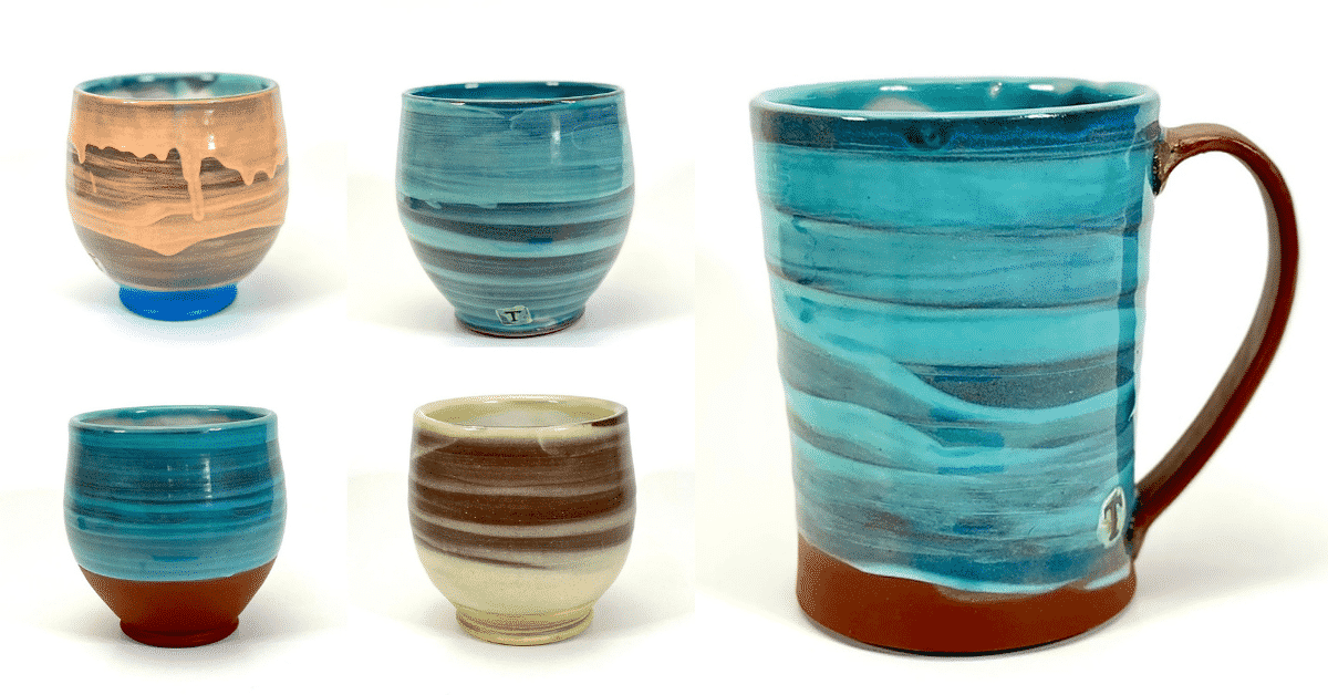 Sara Truman – How to use colored slips and sig to give your pottery pizzazz