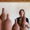 Sarah Pike – Slab building large vases